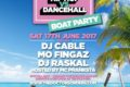 Hip-Hop vs Dancehall – Boat Party - Golden Flame Party Boat, London 17 June