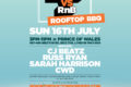 Hip-Hop vs RnB – Rooftop Rave - Prince of Wales Rooftop, Brixton