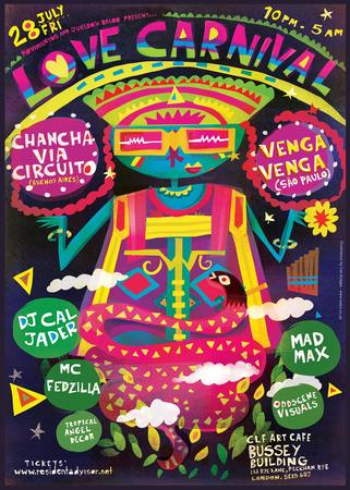 Love Carnival presents Chancha Via Circuito