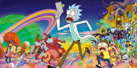 Rick & Morty's House Party