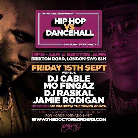 Hip-Hop vs Dancehall @ Brixton Jamm Friday