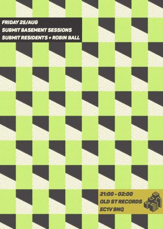Submit Basement Sessions with Robin Ball