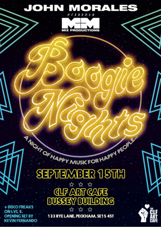 John Morales M&M Boogie Nights with Disco Freaks on lvl 2