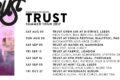 TRUST ANNOUNCE SUMMER TOUR DATES 2017