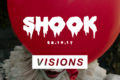 Shook at visions // halloween // hip-hop + randb + bashment + afrobeats //