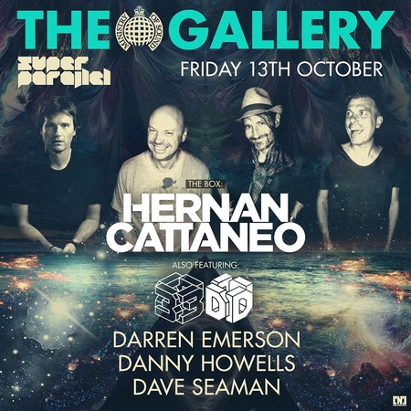 The Gallery: Hernan Cattaneo & 3D
