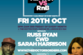 Hip-Hop vs RnB @ The Hoxton Pony, Shoreditch, London - Friday 20th October