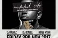 m.A.A.d City – The Kendrick Lamar Party - Trapeze, London - Friday 3rd Nov