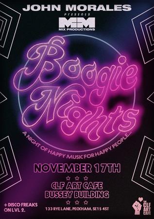 Disco Freaks x M&M John Morales Boogie Nights on 2 Floors