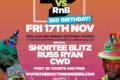 Hip-Hop vs RnB - 3rd Birthday - First 30 Tickets are Free!