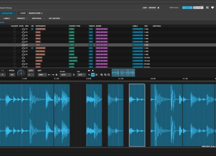 Loopcloud 4.0 adds Comprehensive Sample Editing