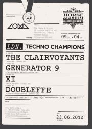 Coma presents - London Techno Champions