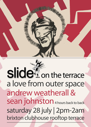 Slide On The Terrace - A Love From Outer Space with Andrew Weatherall and Sean Johnston