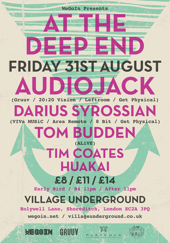 At The Deep End - Audiojack / Darius Syrossian / Tom Budden