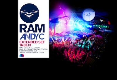 RAM : Andy C extended set